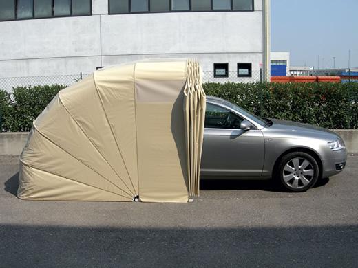 Box mobili e coperture per vari usi grosso tende a torino for Due box auto con posto auto coperto