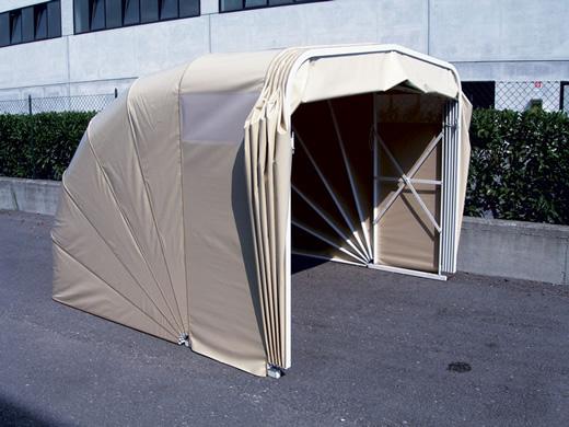 Box mobili e coperture per vari usi grosso tende a torino - Garage mobile per auto ...