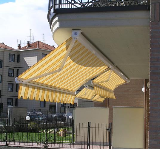 Tende da sole con cassonetto chiusura totale a torino - Tende per finestre con cassonetto ...
