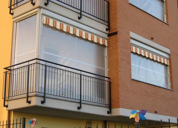 Tende Veranda Per Balconi : La tenda veranda d estate una tenda da sole d inverno una