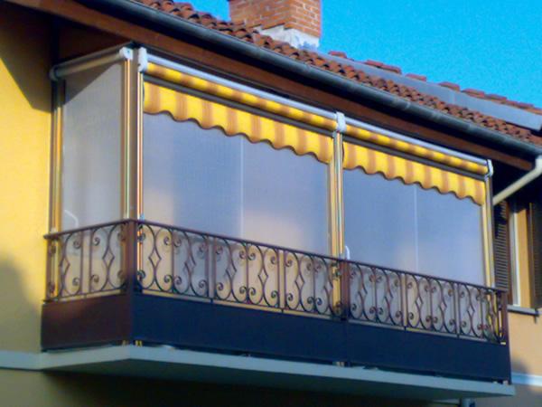 Tende Veranda Trasparenti : Tettoie trasparenti per esterni. best tende a rullo per esterni in