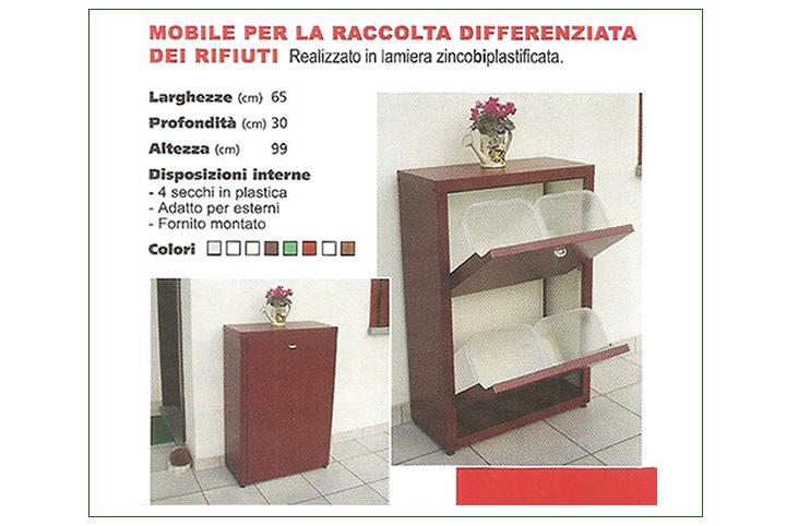 Vendita on line zanzariera gazebo coperture mobili per - Mobile raccolta differenziata 4 secchi ...